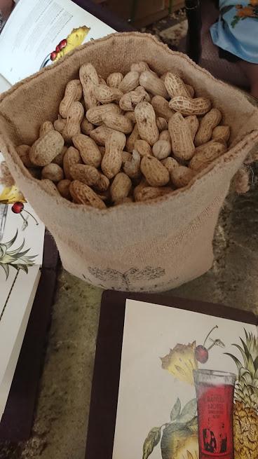 ロングバーのピーナッツ