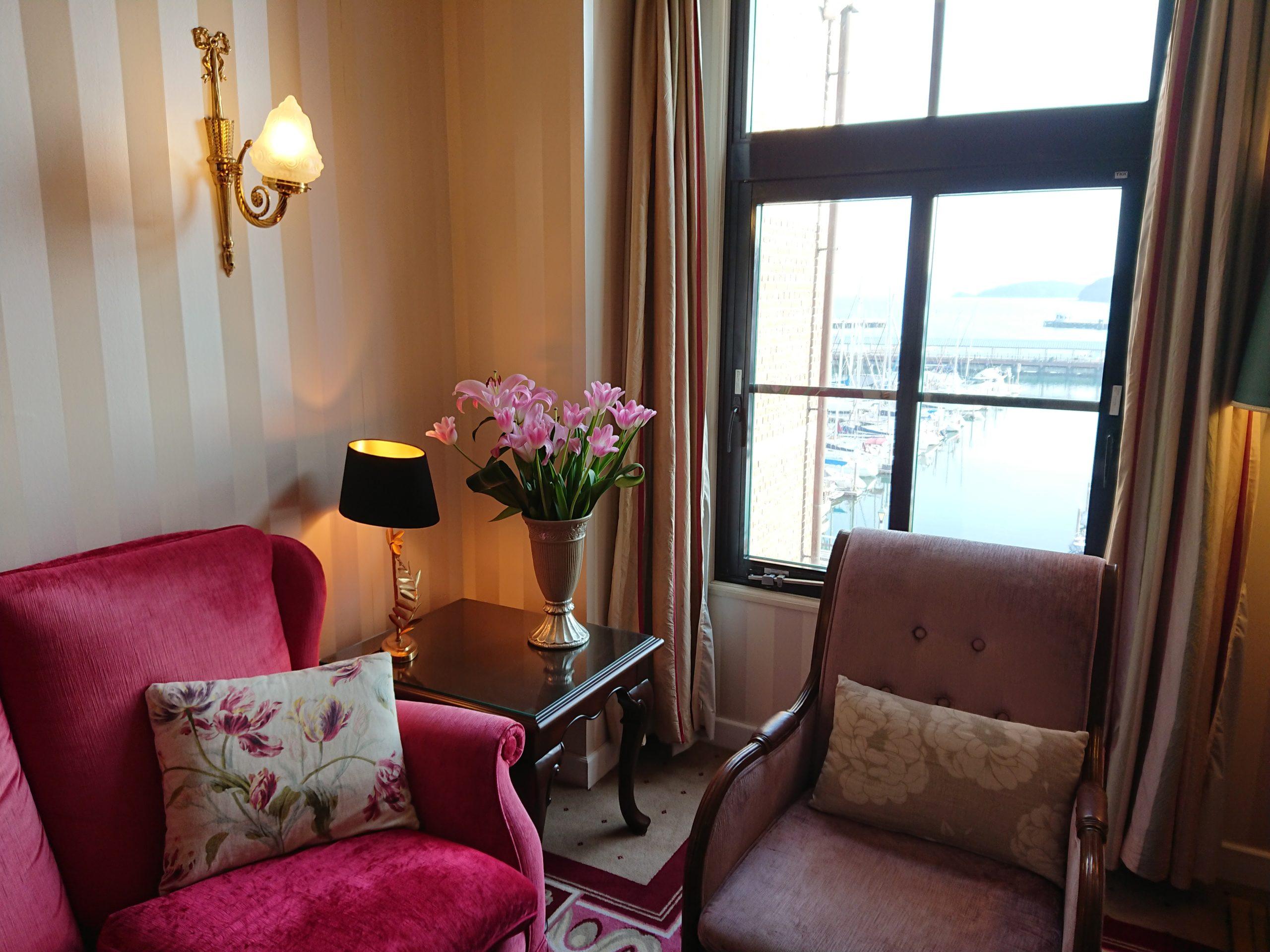 ホテルアムステルダムのクラブラウンジ