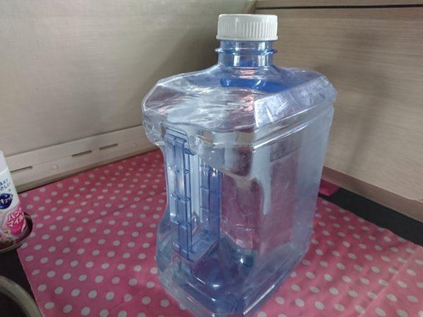 浄水器の水