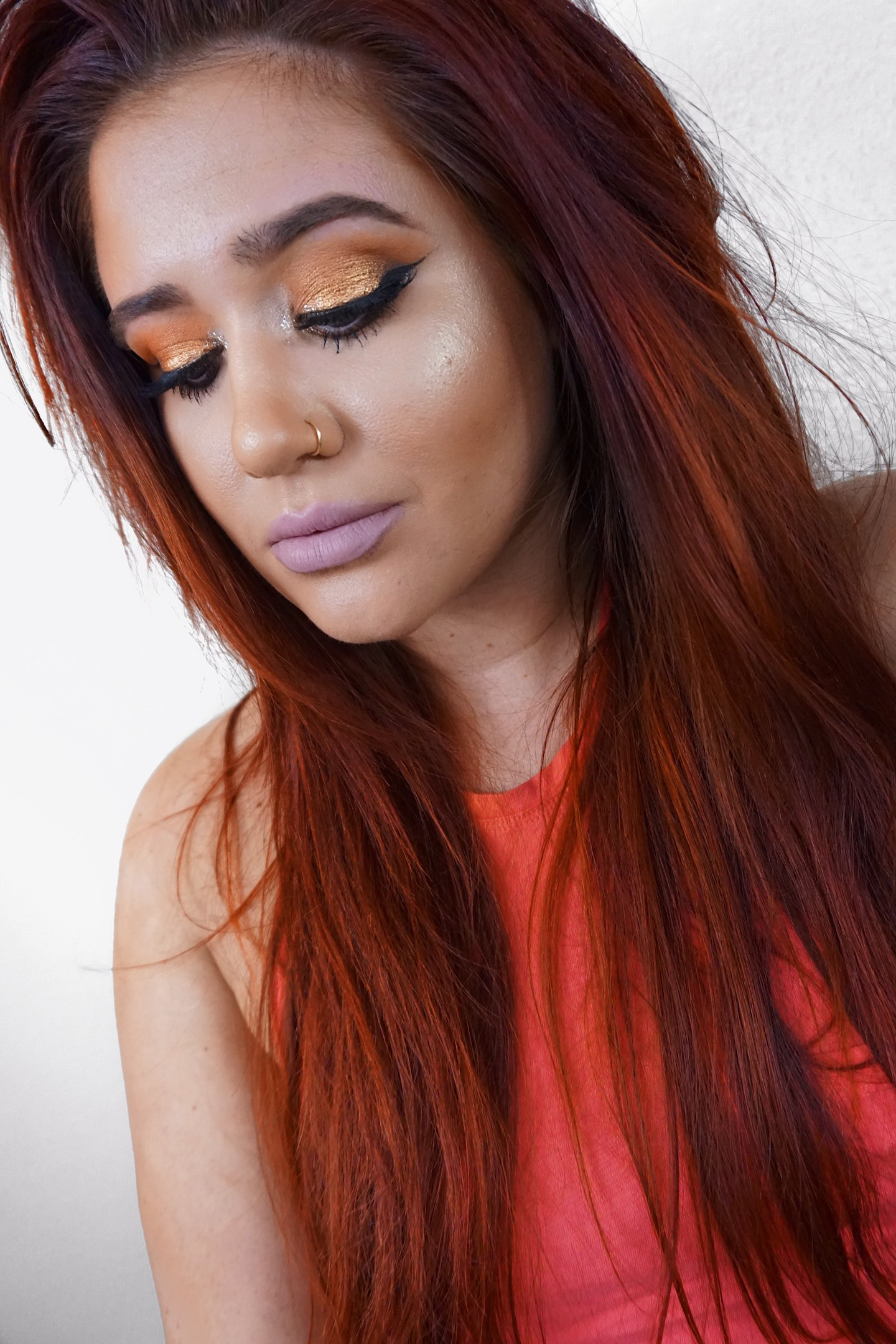 Review & Copper Eye Look | MAKE UP FOR EVER Star Lit Powder