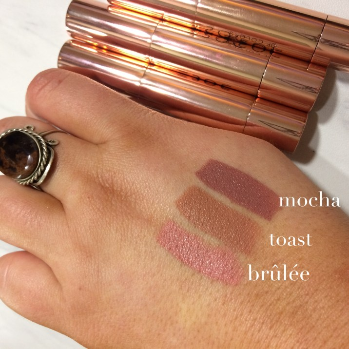 Dose of Colors swatches