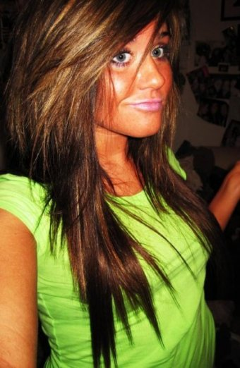 Ok I kinda love this hair color and want it again lol.