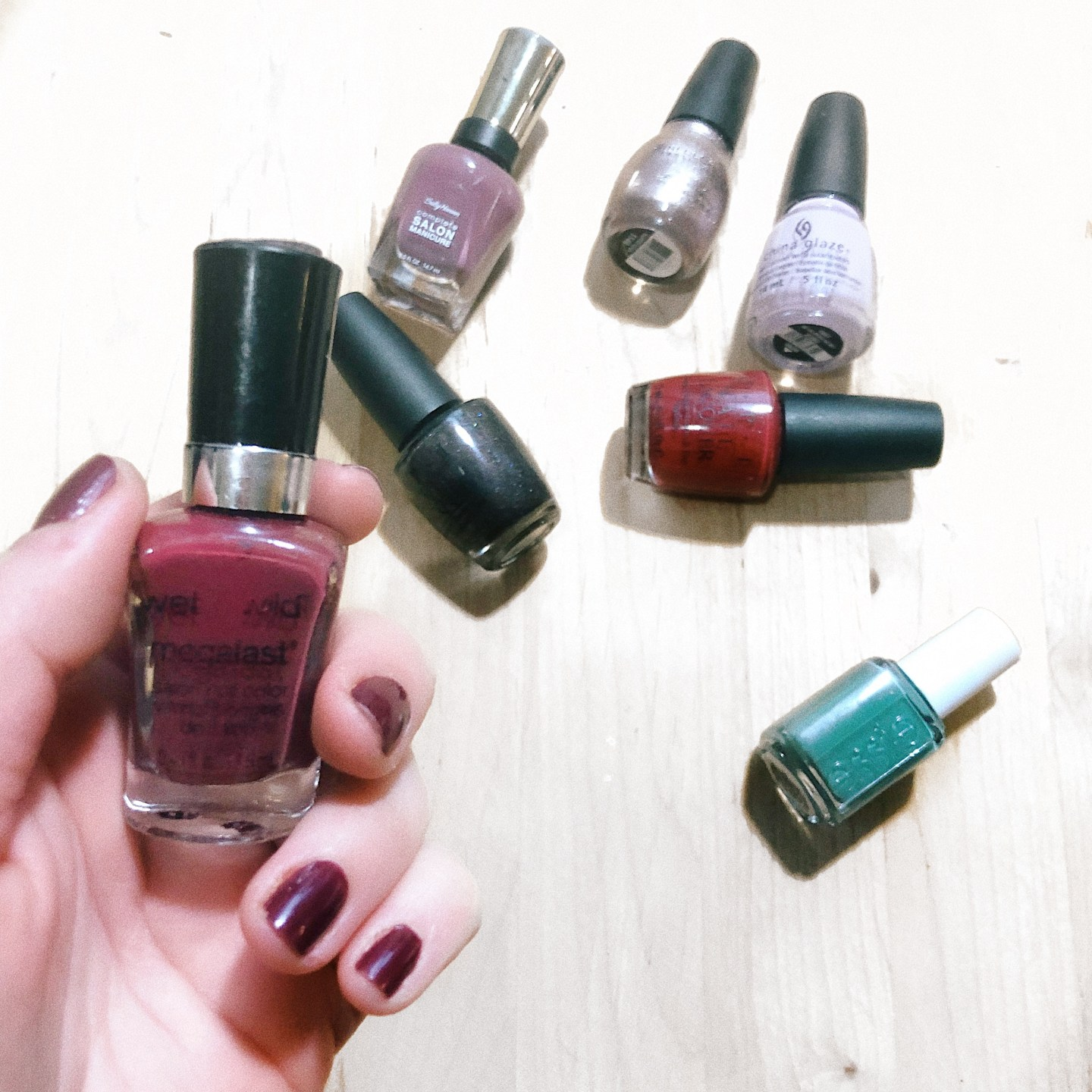 January 2018 Nail Polishes