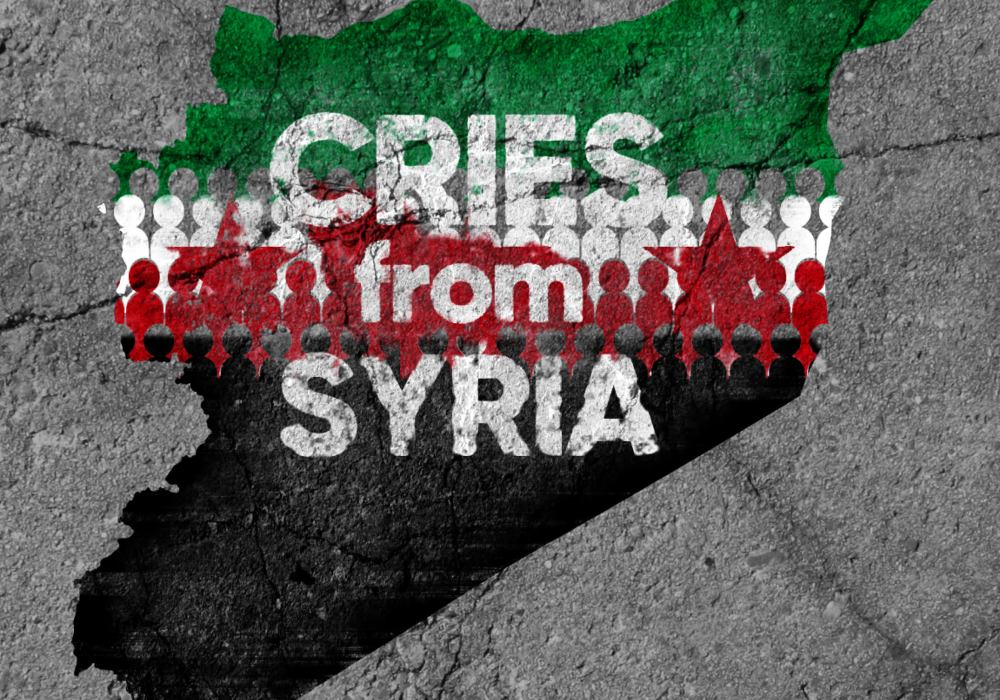 "Clips and Conversation from ""Cries from Syria"""
