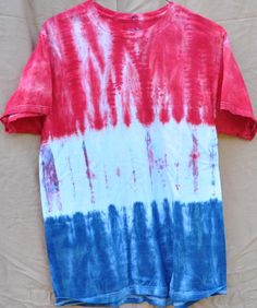 red white and blue tie dye 2
