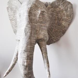 Paper Mache Animal Heads Teen