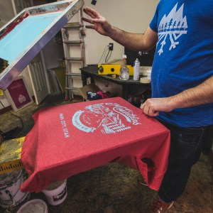 Screen Printing and Wine Drinking Workshop II