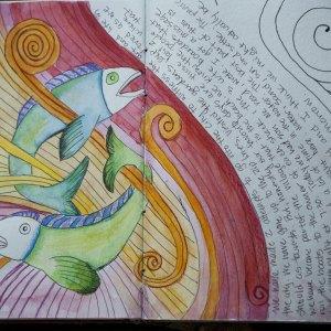 Visual Journaling Kids Workshop 3