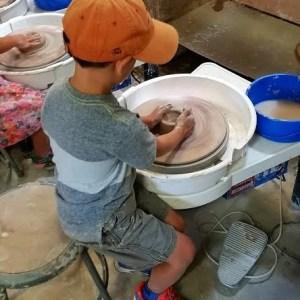 Wheel Throwing Pottery Kids II