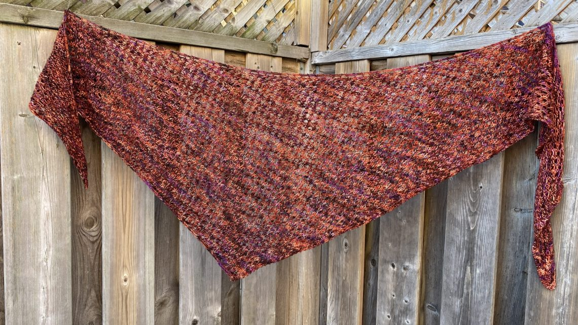 Puget Sound Shawl