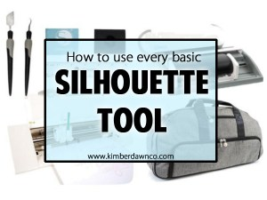 I wish I had this when I was a beginner - Every Silhouette tool: What it is and how you use it!