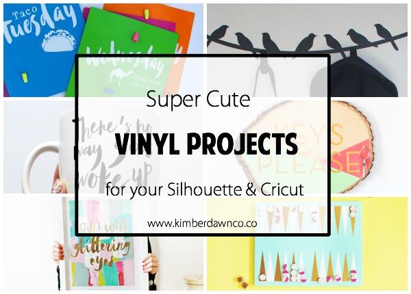 10 Super Cute Vinyl Projects