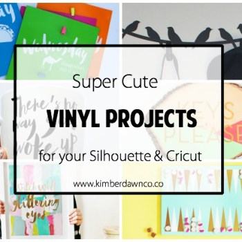 Super Cute Vinyl Projects