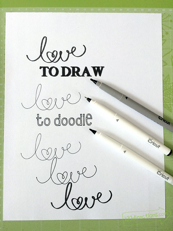 10+ Superb Sketch Pen Projects | www.kimberdawnco.com