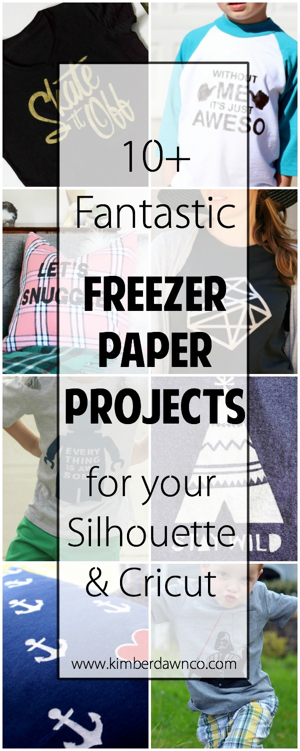 10+ Fantastic Freezer Paper Projects | www.kimberdawnco.com