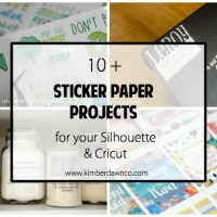 10+ Sticker Paper Projects