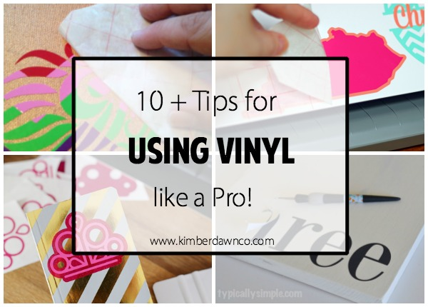 10+ Tutorials on How to Use Vinyl Like a Pro!