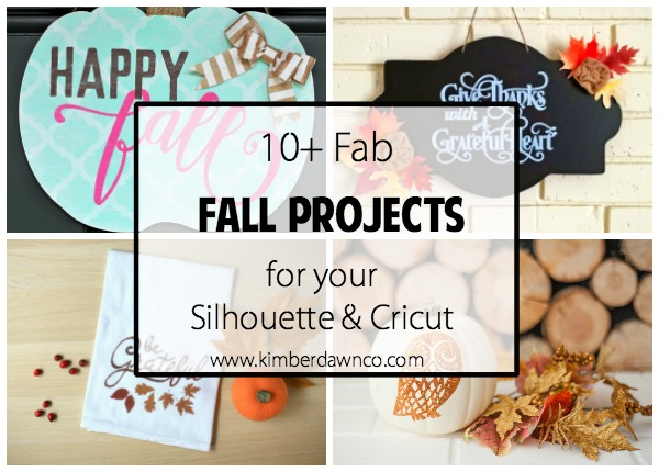 10+ Fab Fall Projects   www.kimberdawnco.com