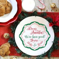 Cookies for Santa- Free Cut File!