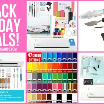 2016 Silhouette CAMEO Black Friday DEALS & SALES!