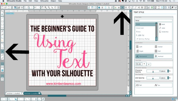 A Beginners Guide to using Fonts with your Silhouette CAMEO
