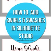 How to Use Font Glyphs in Silhouette Studio
