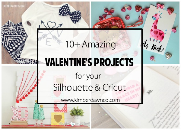 10+ Valentine's Day Projects   www.kimberdawnco.com