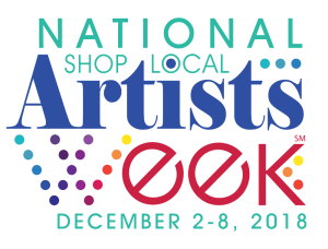 Shop Local Artists Week logo (SM)