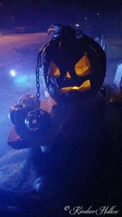 "The Apocalypse Pumpkin ""Malice & Chains"" at Kimber Hollow 2015"