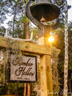 A steel farm bell chases away the ghosts of Kimber Hollow
