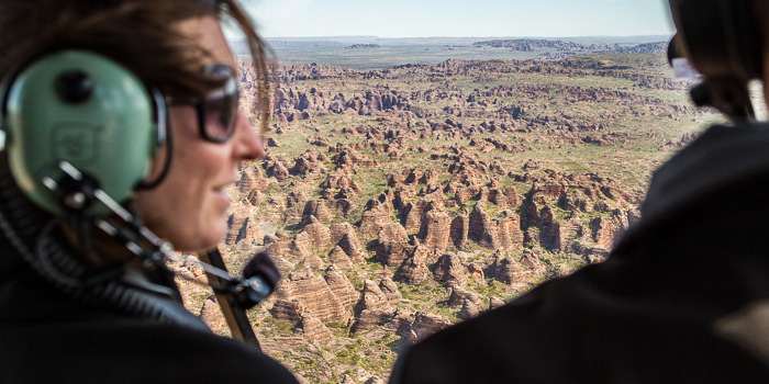 Helicopter Flight, Bungle Bungles