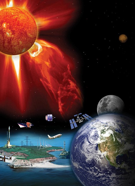 Solar Flares and Sensitive Souls