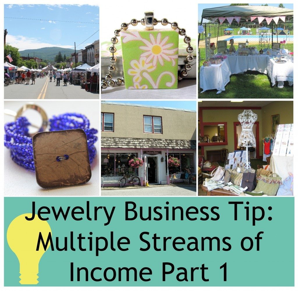 Jewelry Business Tip Multiple Streams Of Income Part 1