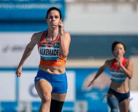 series 100 meter sprint wk paraatletiek dubai