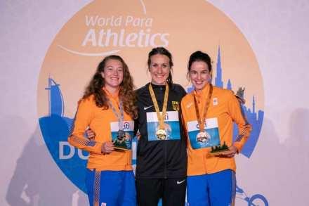 world championship paraathl;etics 100 t64 medalists