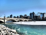 Bow River in Calgary