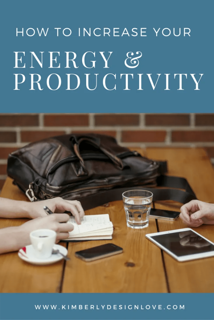 Energy and Productivity
