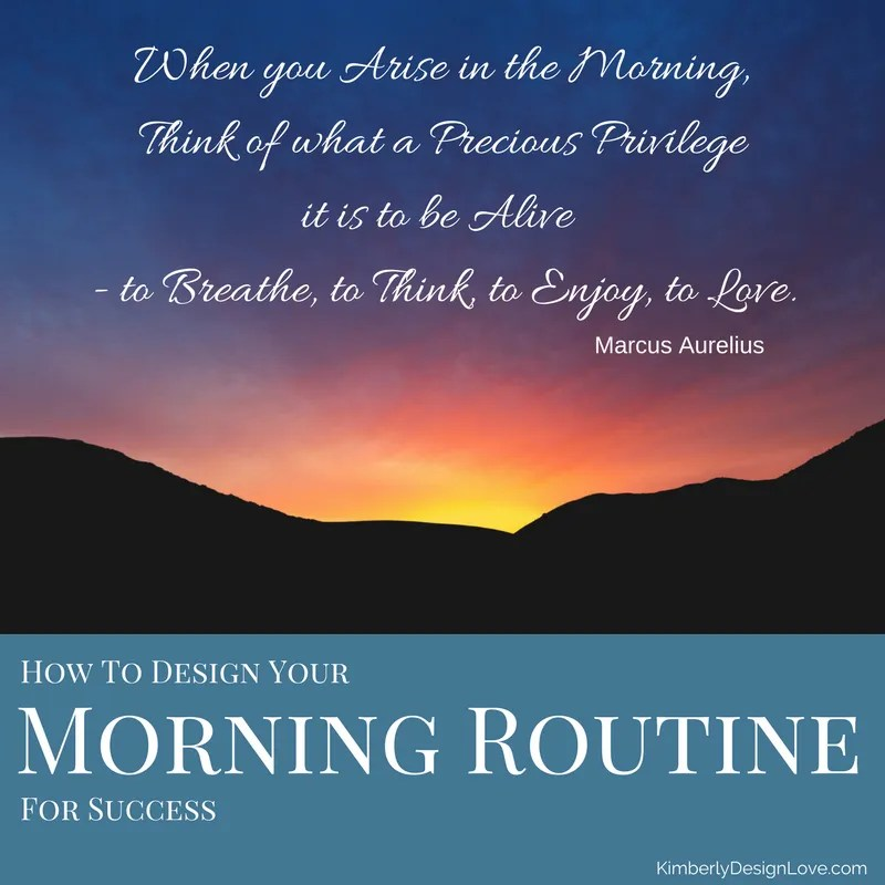 Morning Routine for Success