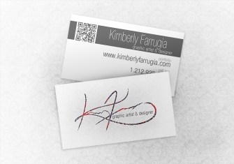 Your's truly Business Cards.