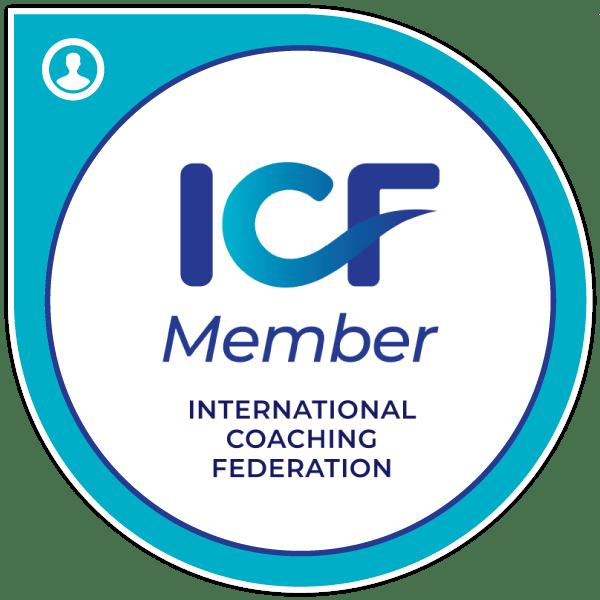International Coaching Federation badge