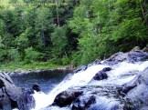 waterfall, rocks, stone, glaciers, landscape, summer, trees, new hampshire, Kimberly J Tilley