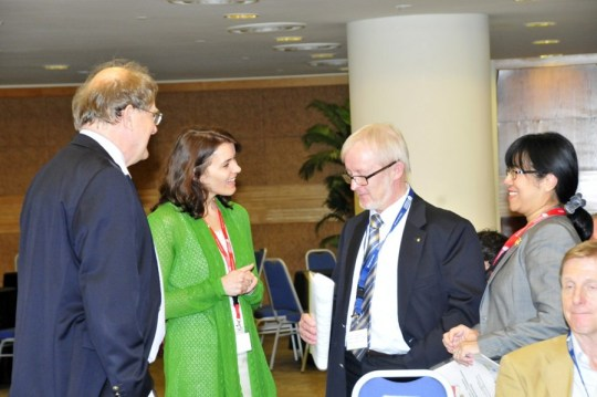 President Andersson and Swedish friends