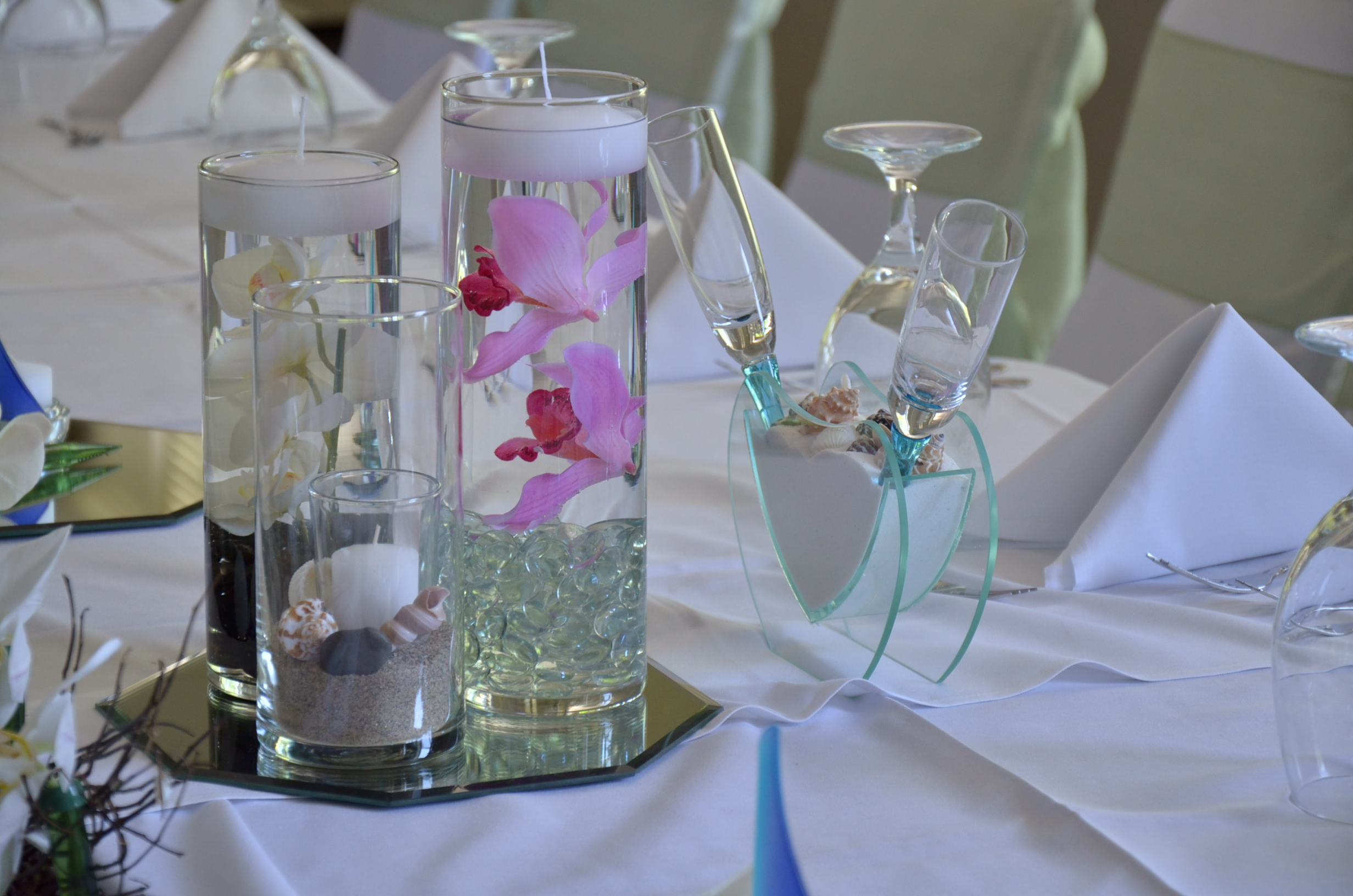 Wedding Reception Table Centerpiece Ideas