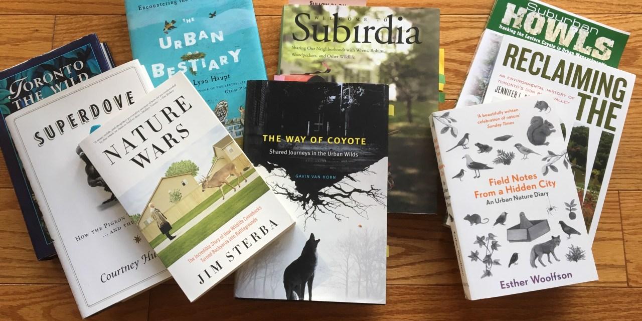 Wednesday Wordcraft: The Urban Wild