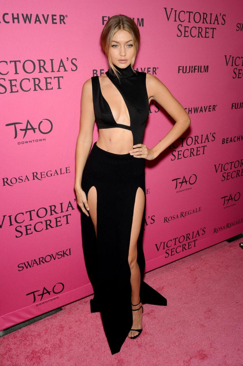 victorias secret 2015 fashion show gigi hadid backstage pink carpet