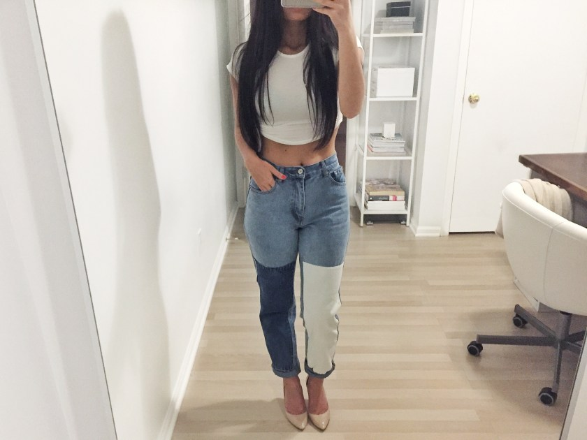 ootd pacsun brandy melville jeans