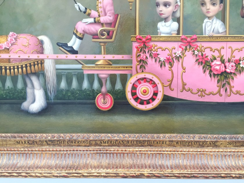 mark ryden whipped cream ballet painting carriage