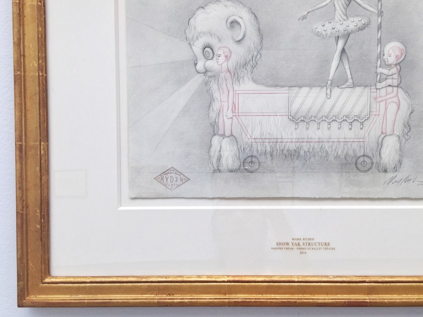 mark ryden whipped cream sketches paul kasmin gallery 2
