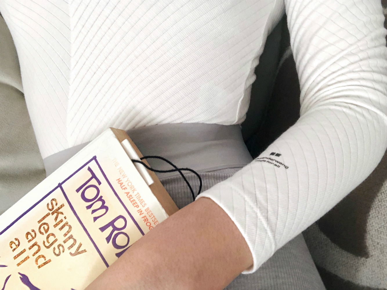 skinny legs and all book review