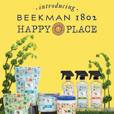 Kimberly Wahlberg Co carries Beekman 1492 Happy Place products